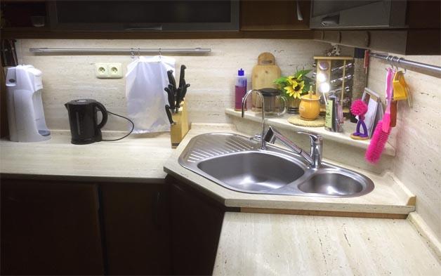 Kuchyňa plná svetla - LED osvetlenie, LED pásy